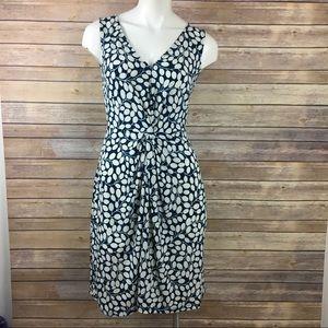 Leota Sleeveless Twist Front V Neck Dress